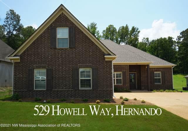 529 Howell Way, Hernando, MS 38632 (MLS #336617) :: The Home Gurus, Keller Williams Realty