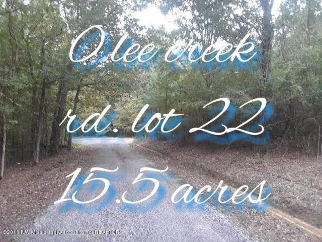 0 Lee Creek Lot 22 Road, Byhalia, MS 38611 (MLS #319242) :: Signature Realty