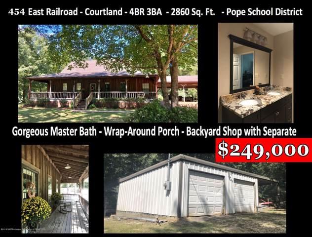 454 E Railroad Avenue, Courtland, MS 38620 (MLS #318960) :: Signature Realty