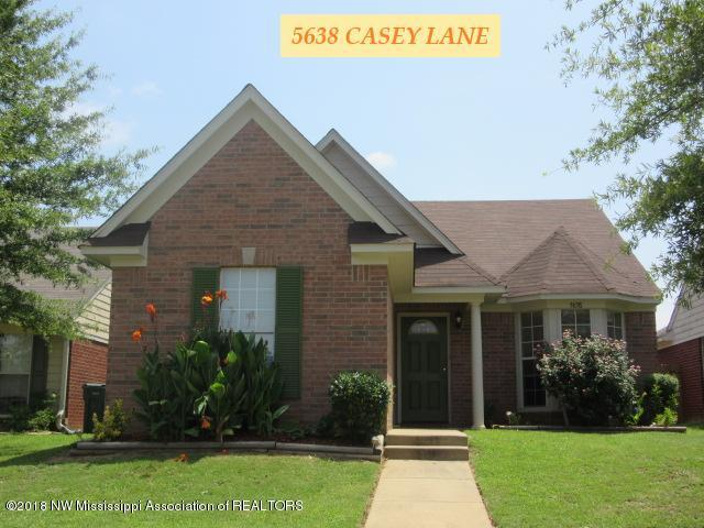 5638 Casey Lane, Southaven, MS 38671 (#317785) :: Berkshire Hathaway HomeServices Taliesyn Realty