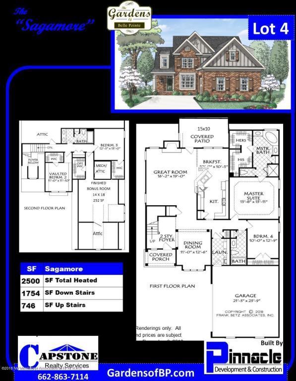 5004 Kensington Creek Drive, Southaven, MS 38672 (MLS #320289) :: Signature Realty