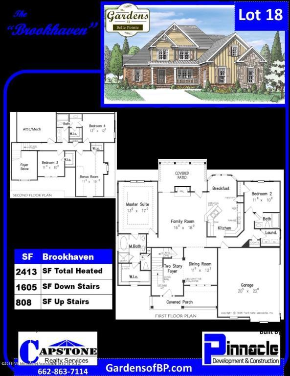 5108 Kensley Court, Southaven, MS 38672 (MLS #320291) :: Signature Realty