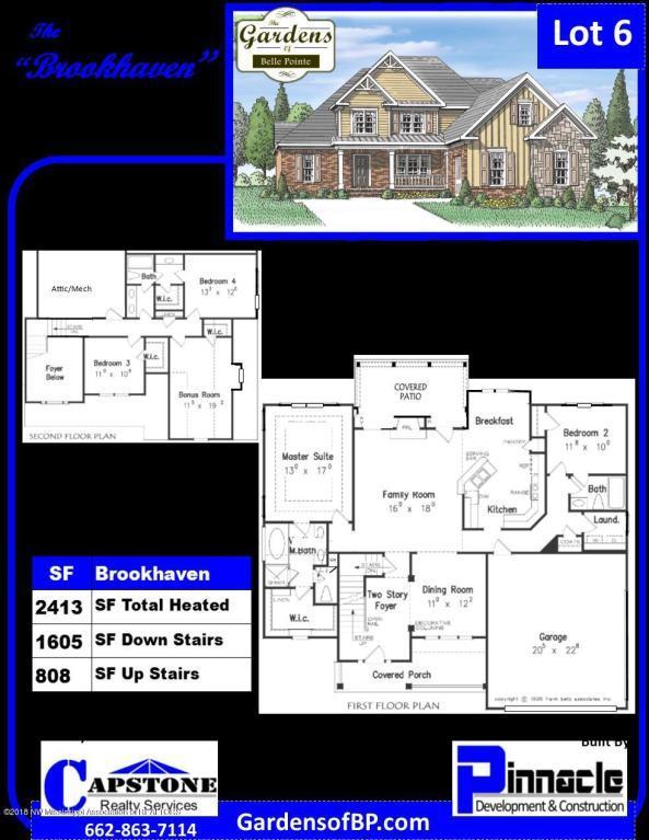 5021 Kensington Creek Drive, Southaven, MS 38672 (MLS #320292) :: Signature Realty