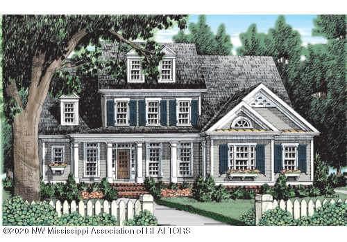 5127 Watson Place Lane, Nesbit, MS 38651 (MLS #329136) :: Signature Realty