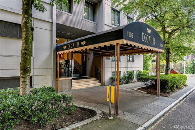 1105 Spring St #610, Seattle, WA 98104 (#1132720) :: Ben Kinney Real Estate Team