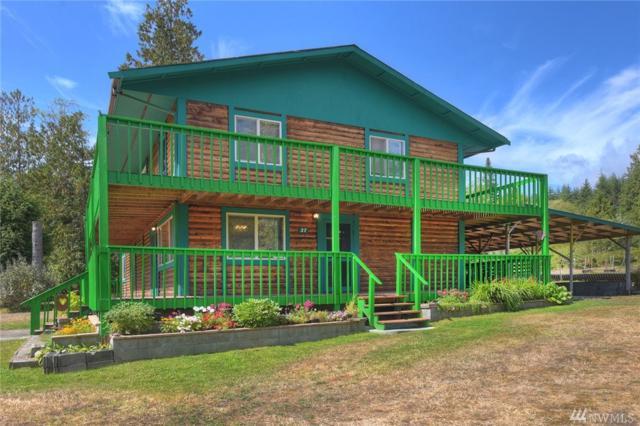 27 Hubbard Creek Rd, Port Ludlow, WA 98365 (#1180318) :: Ben Kinney Real Estate Team