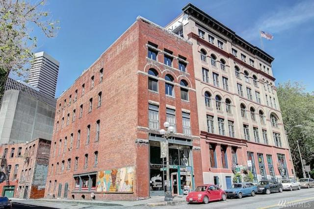 606 Post Alley 90Y, Seattle, WA 98104 (#1191260) :: Ben Kinney Real Estate Team