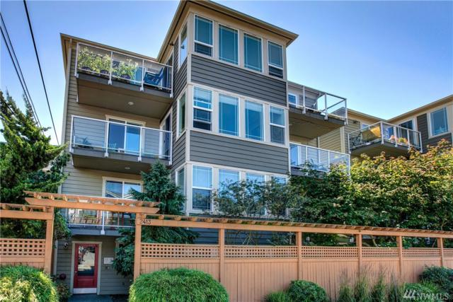 2413 NW 59th St E203, Seattle, WA 98107 (#1195325) :: The Vija Group - Keller Williams Realty
