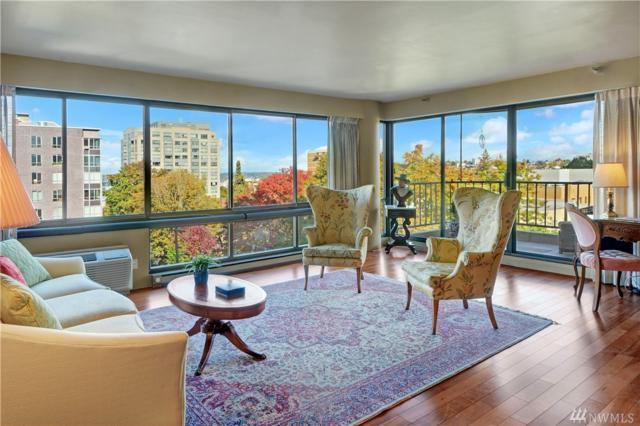 1120 Spring St #702, Seattle, WA 98104 (#1206879) :: Ben Kinney Real Estate Team