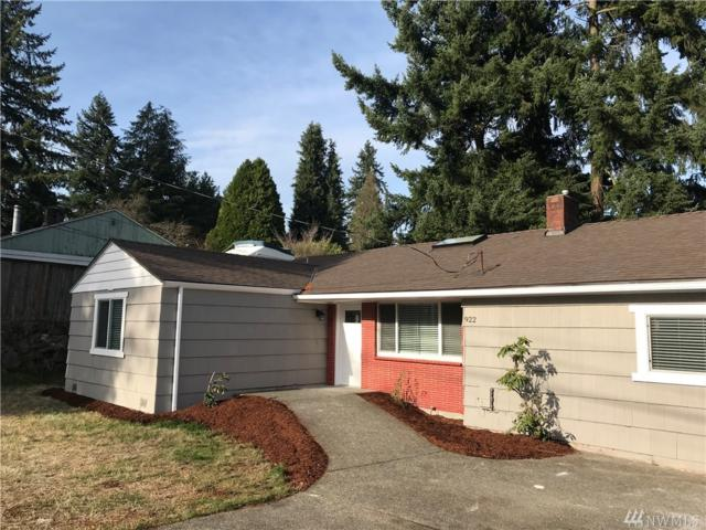 922 N 163rd St, Shoreline, WA 98133 (#1217970) :: Keller Williams Realty Greater Seattle