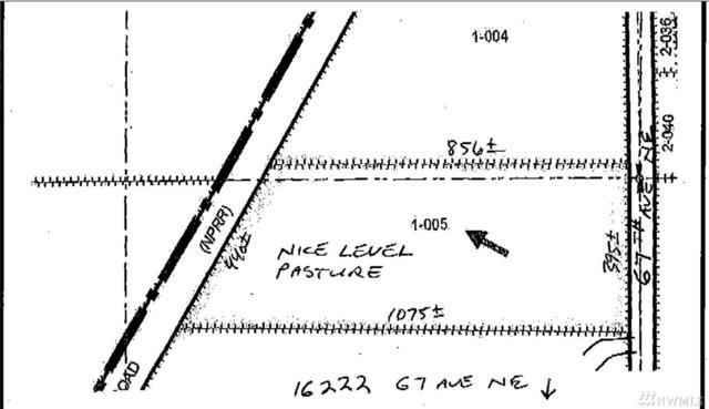 162-XX 67th Ave NE, Arlington, WA 98223 (#1218456) :: Homes on the Sound