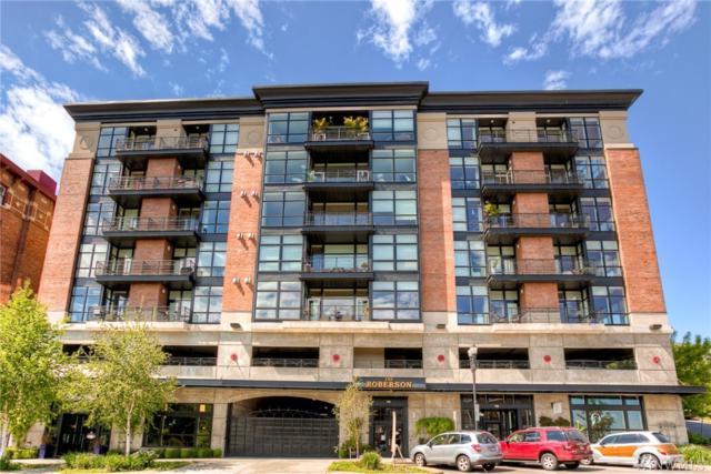 708 Market St #412, Tacoma, WA 98402 (#1219622) :: Ben Kinney Real Estate Team