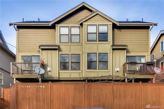 1144 N 93rd St A, Seattle, WA 98103 (#1225998) :: Keller Williams Western Realty