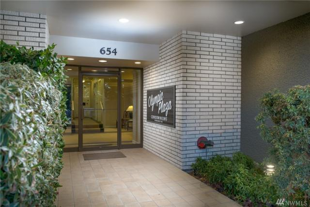 654 W Olympic Place #201, Seattle, WA 98119 (#1233739) :: Homes on the Sound