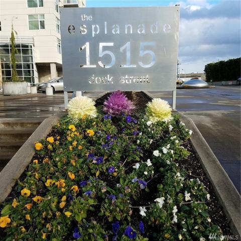1515 Dock St #707, Tacoma, WA 98402 (#1241642) :: Homes on the Sound