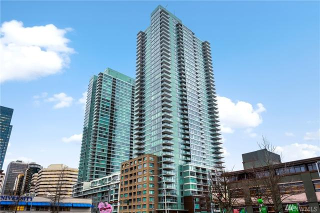 588 Bell St 813S, Seattle, WA 98121 (#1242041) :: Kwasi Bowie and Associates
