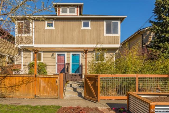 1136 N 91st St B, Seattle, WA 98103 (#1247643) :: Homes on the Sound