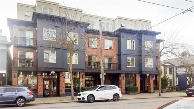 1909 10th Ave W #308, Seattle, WA 98119 (#1260065) :: Ben Kinney Real Estate Team