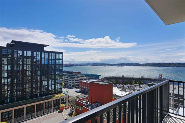 2607 Western Ave #1001, Seattle, WA 98121 (#1264330) :: Beach & Blvd Real Estate Group