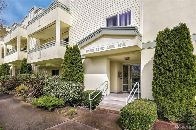 6300 32nd Ave NW #205, Seattle, WA 98107 (#1275376) :: Carroll & Lions