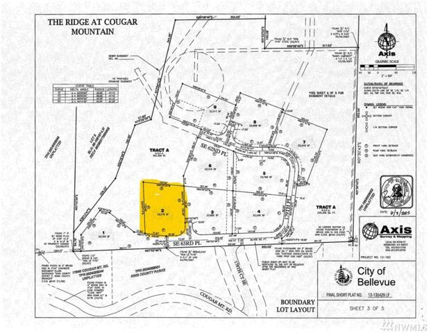 17845 SE Cougar Mountain Dr. (Lot 2), Bellevue, WA 98006 (#1281307) :: Homes on the Sound