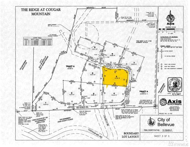17845 SE Cougar Mountain Dr. Se (Lot 5), Bellevue, WA 98006 (#1281327) :: Homes on the Sound
