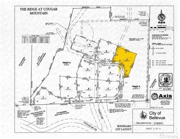 17845 SE Cougar Mountain Dr. (Lot 7), Bellevue, WA 98006 (#1281377) :: Homes on the Sound