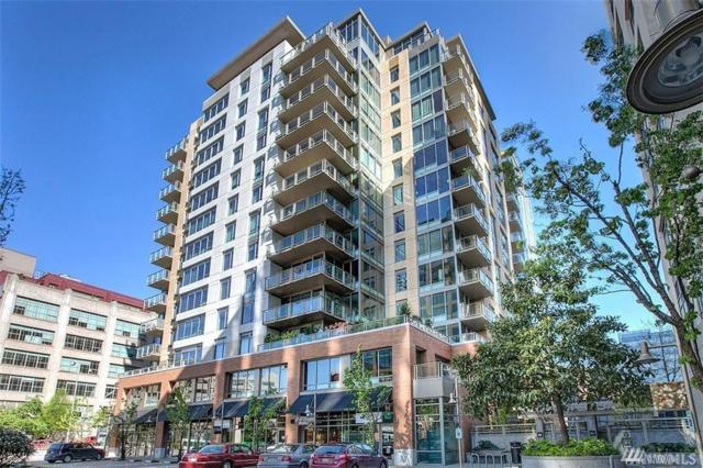 910 Lenora #1406, Seattle, WA 98121 (#1286026) :: Homes on the Sound
