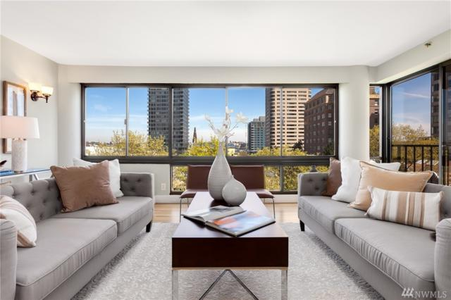 1120 Spring St #703, Seattle, WA 98104 (#1286733) :: Kwasi Bowie and Associates
