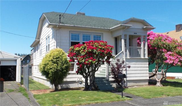 908 1st St, Hoquiam, WA 98550 (#1292317) :: Homes on the Sound