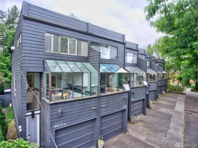4511 NE 55th St 1/2, Seattle, WA 98105 (#1302123) :: Real Estate Solutions Group