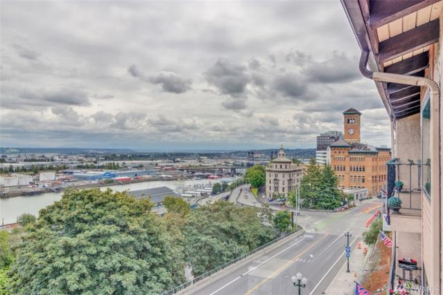 525 Broadway #406, Tacoma, WA 98402 (#1315027) :: Commencement Bay Brokers