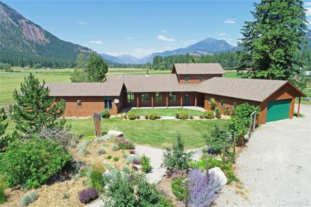 865 Wolf Creek Rd, Winthrop, WA 98862 (#1336926) :: Homes on the Sound