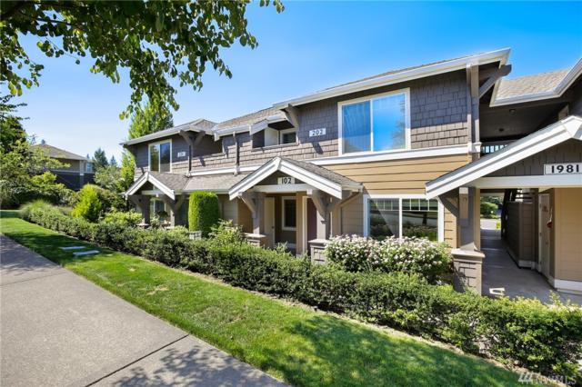 1981 24th Ave NE #102, Issaquah, WA 98029 (#1338350) :: McAuley Real Estate
