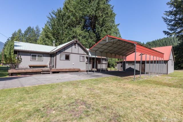 73830 NE Old Cascade Hwy, Skykomish, WA 98288 (#1341336) :: Homes on the Sound