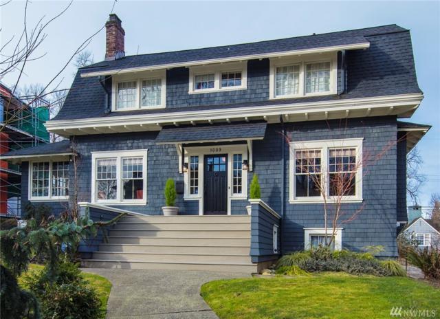 1009 36th Ave E, Seattle, WA 98112 (#1347995) :: The DiBello Real Estate Group