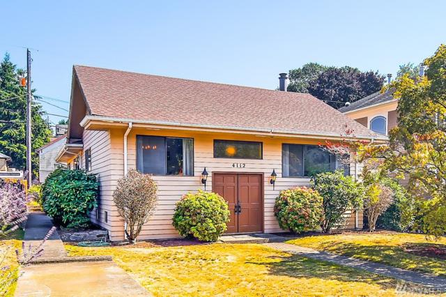 4112 47th Ave SW, Seattle, WA 98116 (#1349545) :: Homes on the Sound