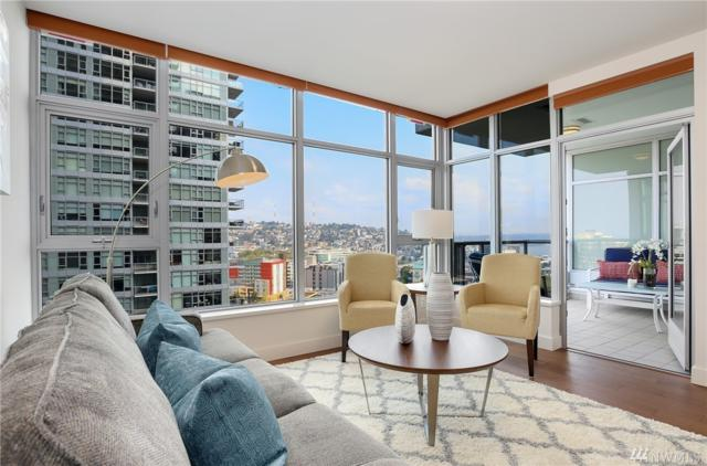 588 Bell St #1401, Seattle, WA 98121 (#1351052) :: Homes on the Sound