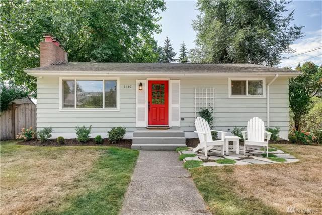 1819 N 157th St, Shoreline, WA 98133 (#1355821) :: Real Estate Solutions Group
