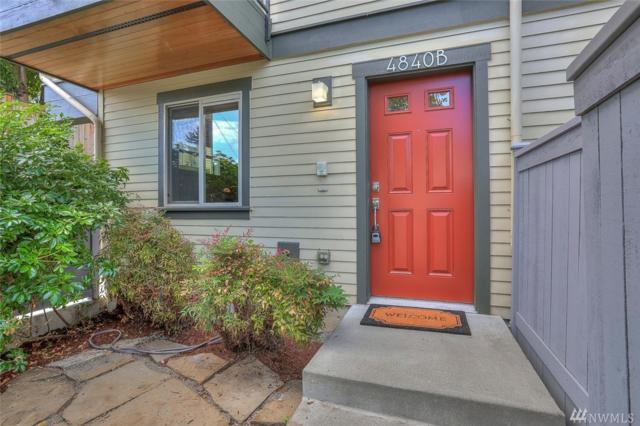 4840-B 40th Ave SW, Seattle, WA 98116 (#1359349) :: Homes on the Sound