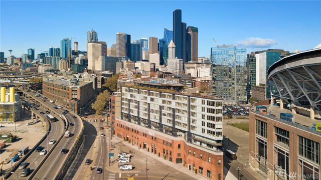 590 1st Ave S #1107, Seattle, WA 98104 (#1371534) :: Real Estate Solutions Group