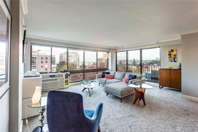 1120 Spring St #802, Seattle, WA 98104 (#1372796) :: Kwasi Bowie and Associates