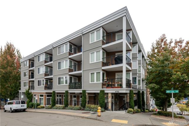 4752 41st Ave SW #202, Seattle, WA 98116 (#1375182) :: Better Homes and Gardens Real Estate McKenzie Group