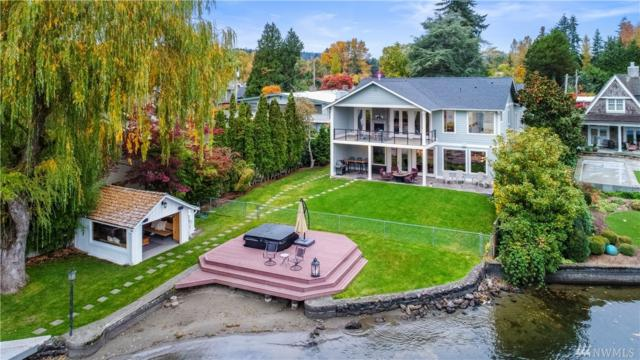 4712 NE Shore Place, Lake Forest Park, WA 98155 (#1380820) :: The Mike Chaffee Team