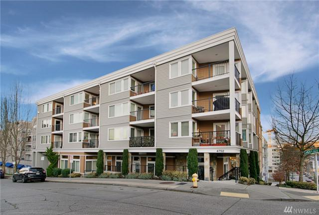 4752 41st Ave SW #405, Seattle, WA 98116 (#1391839) :: Kwasi Bowie and Associates