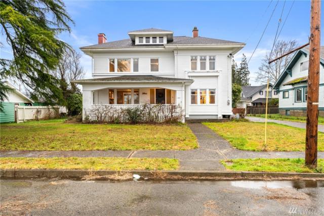 1231 Duryea St, Raymond, WA 98577 (#1393830) :: Homes on the Sound