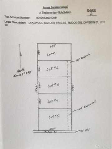 4-xy Mcrae Rd NW Lot 1, Arlington, WA 98223 (#1396376) :: NW Home Experts