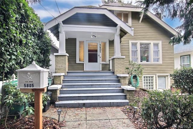 5805 5th Ave NE, Seattle, WA 98105 (#1399063) :: HergGroup Seattle