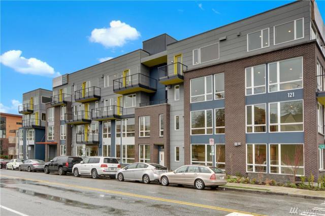 121 12th Ave E #308, Seattle, WA 98102 (#1401032) :: Beach & Blvd Real Estate Group