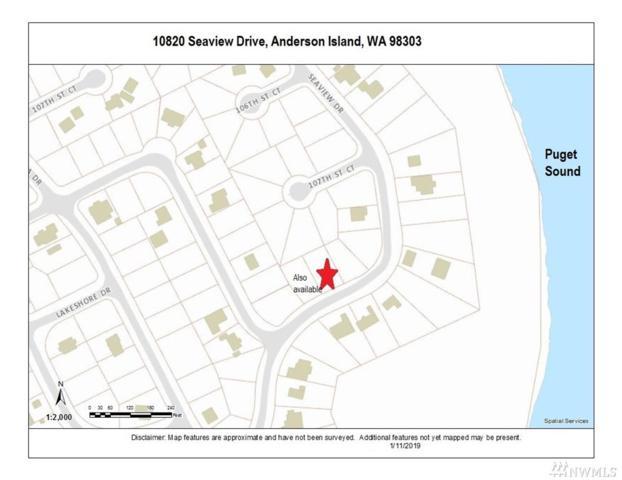 10820 Seaview Dr, Anderson Island, WA 98303 (#1401881) :: Pickett Street Properties